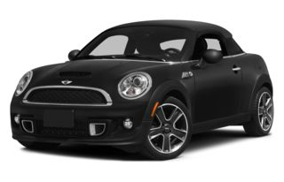 3/4 Front Glamour 2013 MINI Coupe