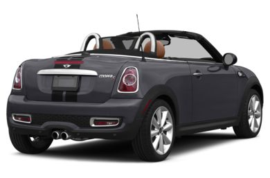 3/4 Rear Glamour  2013 MINI Roadster