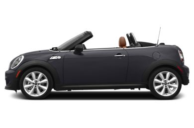 90 Degree Profile 2014 MINI Roadster