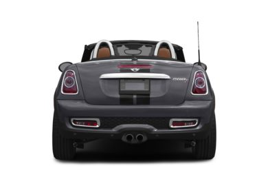 Rear Profile  2012 MINI Roadster