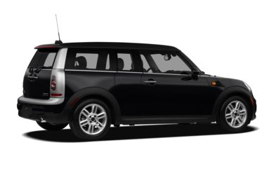 3/4 Rear Glamour  2012 MINI Clubman