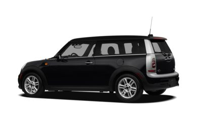 Surround 3/4 Rear - Drivers Side  2012 MINI Clubman
