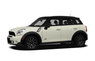 3/4 Front Glamour 2012 MINI Countryman