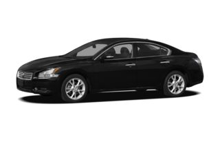 3/4 Front Glamour 2012 Nissan Maxima