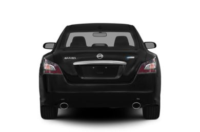 Rear Profile  2012 Nissan Maxima