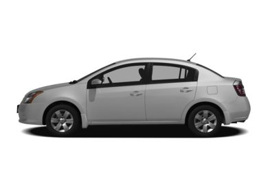 90 Degree Profile 2012 Nissan Sentra