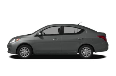 90 Degree Profile 2012 Nissan Versa