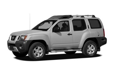 3/4 Front Glamour 2012 Nissan Xterra