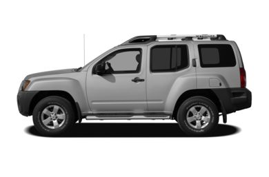 90 Degree Profile 2012 Nissan Xterra