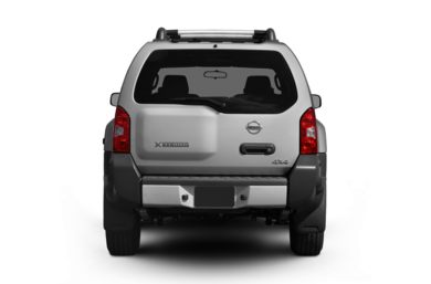 Rear Profile  2012 Nissan Xterra