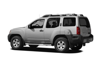 Surround 3/4 Rear - Drivers Side  2012 Nissan Xterra