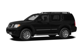 3/4 Front Glamour 2012 Nissan Pathfinder