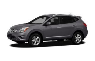 3/4 Front Glamour 2012 Nissan Rogue
