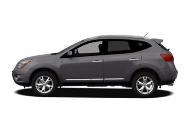 90 Degree Profile 2012 Nissan Rogue