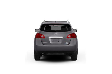 Surround Rear Profile 2012 Nissan Rogue