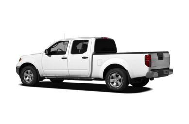 Surround 3/4 Rear - Drivers Side  2012 Nissan Frontier