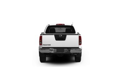 Surround Rear Profile 2012 Nissan Frontier