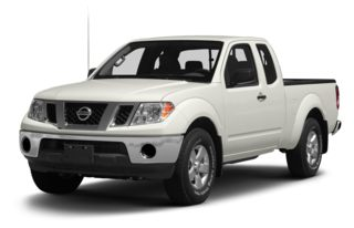 3/4 Front Glamour 2012 Nissan Frontier