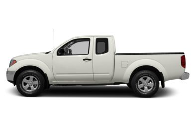 90 Degree Profile 2012 Nissan Frontier