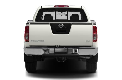 Rear Profile  2012 Nissan Frontier