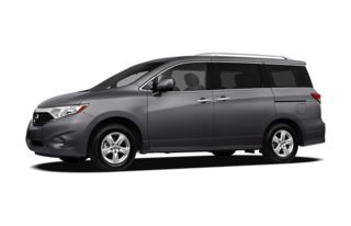 3/4 Front Glamour 2012 Nissan Quest