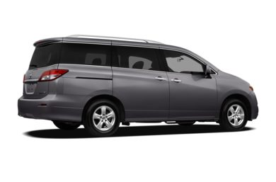 3/4 Rear Glamour  2012 Nissan Quest