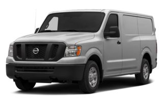 3/4 Front Glamour 2014 Nissan NV Cargo NV1500