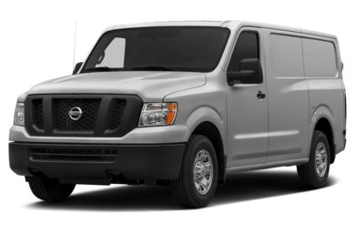 3/4 Front Glamour 2013 Nissan NV Cargo NV1500