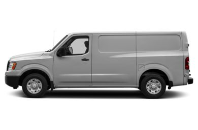 90 Degree Profile 2012 Nissan NV Cargo NV1500