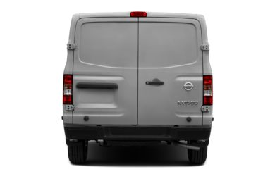 Rear Profile  2012 Nissan NV Cargo NV1500