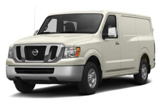 3/4 Front Glamour 2013 Nissan NV Cargo NV2500 HD