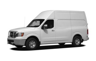 3/4 Front Glamour 2012 Nissan NV Cargo NV3500 HD