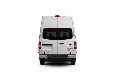 Surround Rear Profile 2012 Nissan NV Cargo NV3500 HD