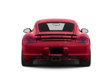 Rear Profile  2012 Porsche Cayman