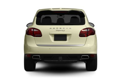 Rear Profile  2012 Porsche Cayenne