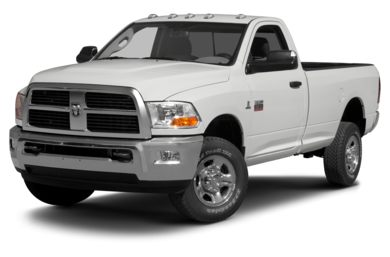 3/4 Front Glamour 2012 RAM 2500