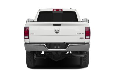 Rear Profile  2012 RAM 2500