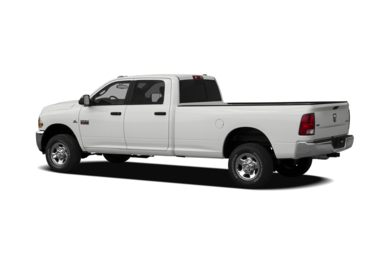 Surround 3/4 Rear - Drivers Side  2012 RAM 3500