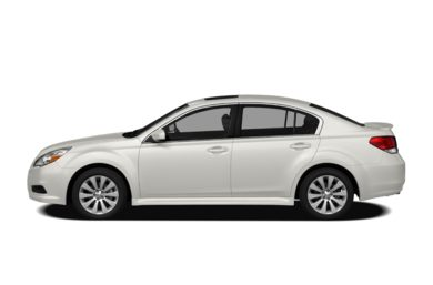 90 Degree Profile 2012 Subaru Legacy