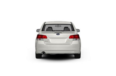 Surround Rear Profile 2012 Subaru Legacy