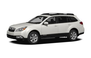 3/4 Front Glamour 2012 Subaru Outback