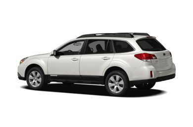 Surround 3/4 Rear - Drivers Side  2012 Subaru Outback