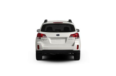 Surround Rear Profile 2012 Subaru Outback