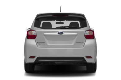Rear Profile  2012 Subaru Impreza