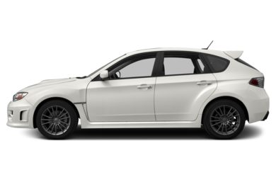 90 Degree Profile 2012 Subaru Impreza WRX
