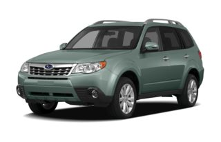 3/4 Front Glamour 2012 Subaru Forester