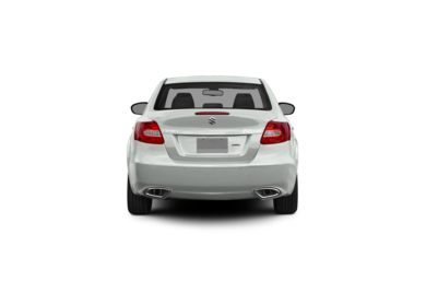 Surround Rear Profile 2012 Suzuki Kizashi