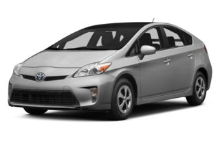 3/4 Front Glamour 2013 Toyota Prius