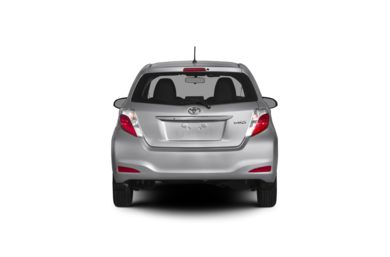 Surround Rear Profile 2012 Toyota Yaris