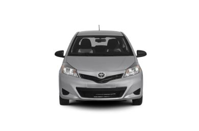 Surround Front Profile  2012 Toyota Yaris